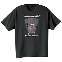 Dog Breed Tee- Black Labrador