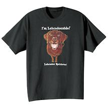 Dog Breed Tee- Chocolate Labrador