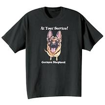 Dog Breed Tee- German Shepherd