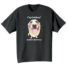 Dog Breed Tee- Golden Retriever