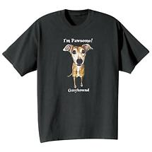 Dog Breed Tee- Greyhound