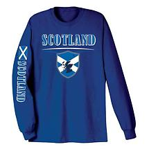 International Long Sleeve T-Shirt- Scotland
