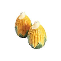 Harvest Corn Salt & Pepper Tableware