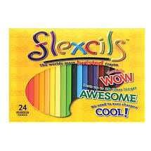 Flexcils Colored Pencils- 24 Pack