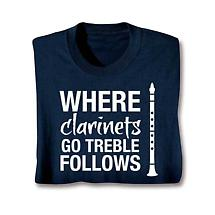 Music Instruction Sweatshirt- Clarinets
