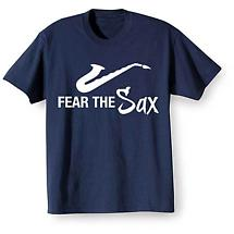 Music Instruction T-Shirt- Sax