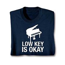 Music Instruction Ladies T-Shirt- Piano