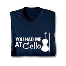 Music Instruction T-Shirt- Cello
