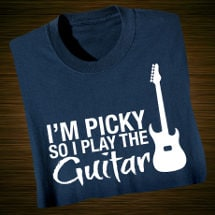 Music Instruction T-Shirt- Guitar
