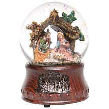 Musical Nativity Waterglobe