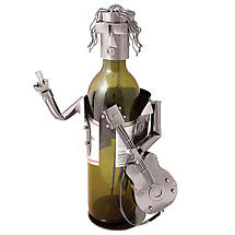 Lead Guitar Rock Star Wine Caddy
