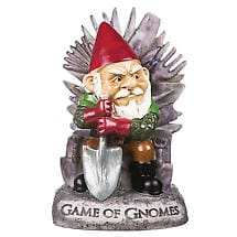 Game Of Gnomes Garden Sculpture