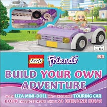 Lego®: Friends Build Your Own Adventure Books