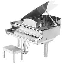 Metal Earth 3D Laser Cut Musical Grand Piano Instrument Kit