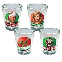 National Lampoon's Christmas Vacation Shot Glasses