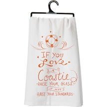 Military Flour Sack Kitchen Towel- Coastle (Coast Guard)