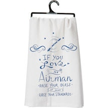 Military Flour Sack Kitchen Towel- Airman (Air Force)