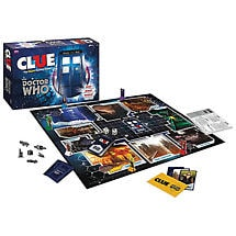 Clue® Doctor Who Villains Edition Licensed Games
