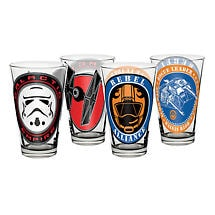 Star Wars Juice Glasses Set