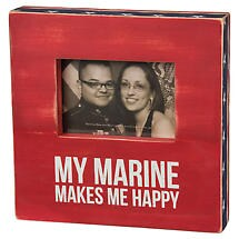 Wooden Military Frames- Marine (Usmc)