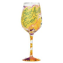 Best Ever Wine Glasses- Aunt