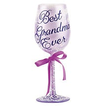 Best Ever Wine Glasses- Grandma