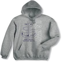 Military Navy Hooded Sweatshirt