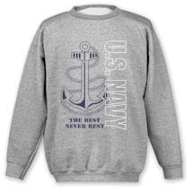 Military Navy Sweatshirt