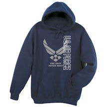Military Airforce Hooded Sweatshirt