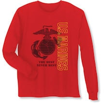 Military Marines Long Sleeve T-Shirt