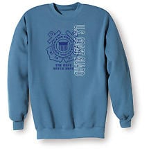Military Coast Guard Sweatshirt