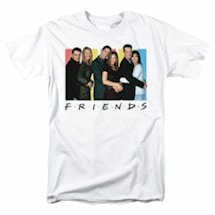 FRIENDS CAST LOGO TEE