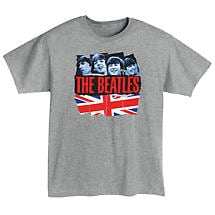 Grey Beatles T-Shirt