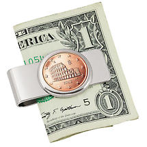 Coin Money Clips- Italian Amphitheatre
