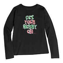 Holiday Humor Get Your Merry On T-Shirt
