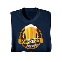 "Personalized ""Your Name"" Brew House Shirt"