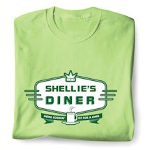 "Personalized ""Your Name"" Diner - Home Cookin' Fit For A King Shirt"