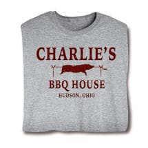 "Personalized ""Your Name"" BBQ House Shirt"