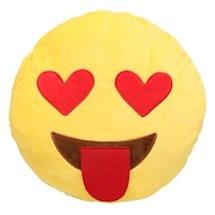 Emoji Heart Pillows