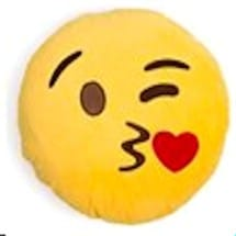 Emoji Kiss Pillows