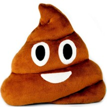 Emoji Poop Pillows