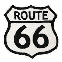 Route 66 Accent Rug