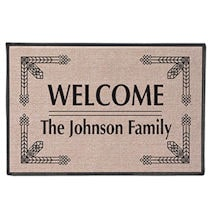 "Personalized ""Your Name"" Doormat - Deco"