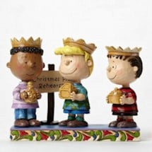 Peanuts® Three Wise Men Nativity By Jim Shore