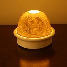 Porcelain Bisque Madonna night light