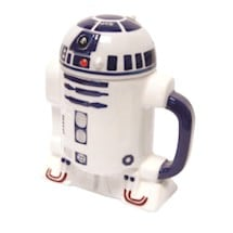 R2D2 Star Wars® 3-D Ceramic Lidded Mugs