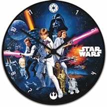 Star Wars® Cordless Wood Clock