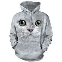 Green Eyes Cat Hoodie
