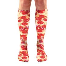 Foodie Knee Highs- Pizza