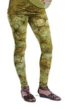 Batik Leggings- Sage